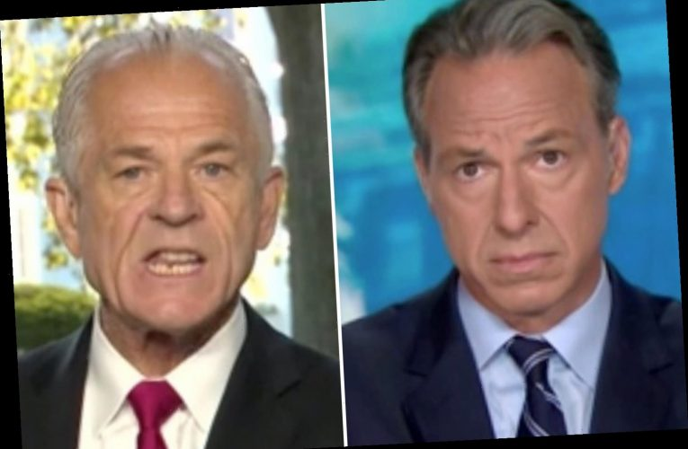 CNN host Jake Tapper 'cuts off' top Trump adviser Peter Navarro for saying the network is 'not honest' with Americans