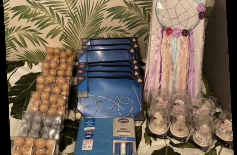 Bloke bags £154 of B&M goodies including Christmas decorations for just £3.30 in stonking sale