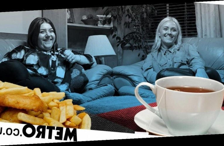 Gogglebox's Ellie and Izzi split viewers as they drink tea with fish and chips