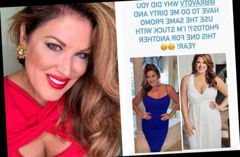 RHOC's Emily Simpson accuses Bravo of 'doing her dirty' by posting old photo from before her 30-pound weight loss