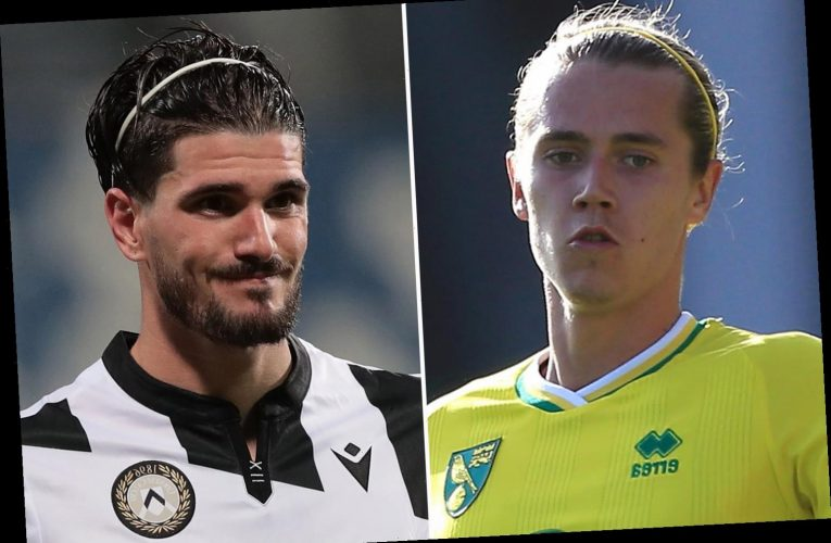 Leeds to raid relegated Norwich with £15m move for star man Todd Cantwell after Udinese demand £40m for Rodrigo de Paul
