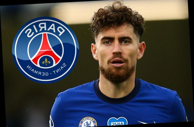 Chelsea star Jorginho wanted by PSG as French champions 'establish contact' over loan move for midfielder
