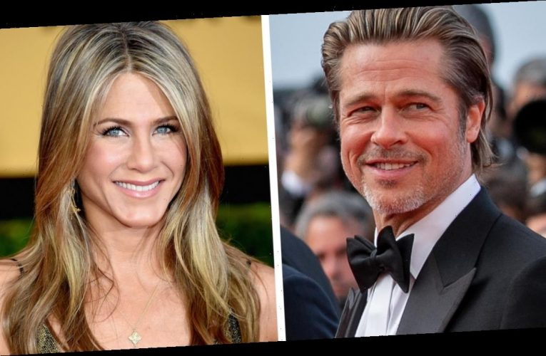 Brad Pitt and Jennifer Aniston Reunite in First Look at Fast Times At Ridgemont High Table Read