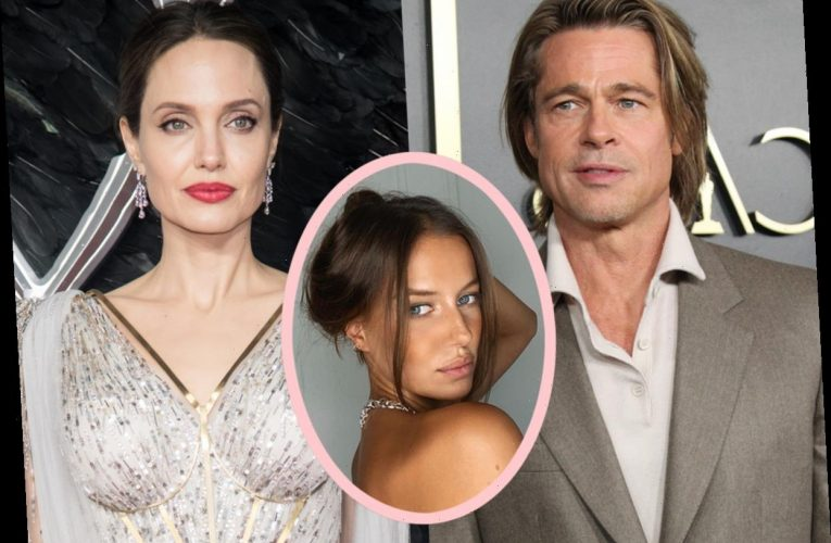 How Did Brad Pitt Feel About His New GF Shading Angelina Jolie?!