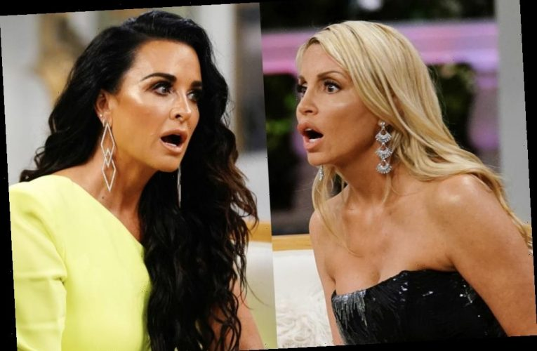 'RHOBH': Kyle Richards Shuts Down Camille Grammer, Tells Her To 'Get a Life'