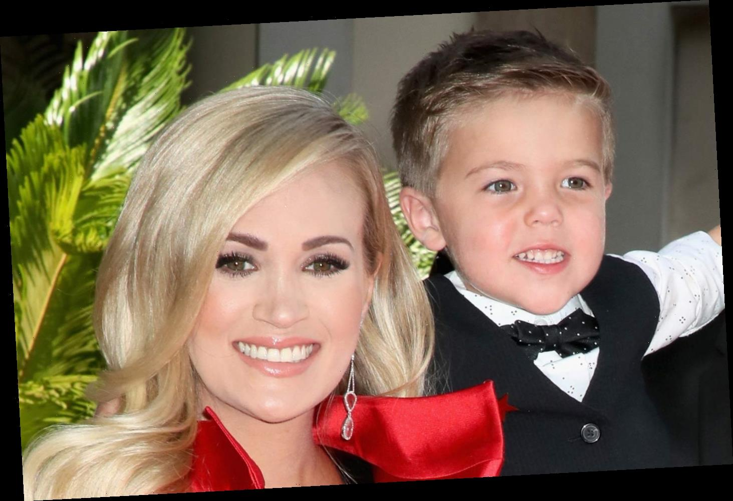 Carrie Underwood Sings with Her Son Isaiah on Christmas Album – Listen Now!     News of the ...