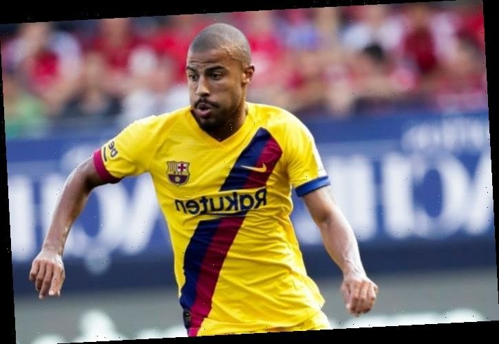 Arsenal and Leeds on transfer alert with Rafinha set for Premier League move as Barcelona demand £12.7m fee