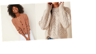 Old Navy Has Over 120 Sweaters Right Now; Here Are the 10 We're Adding to Our Carts