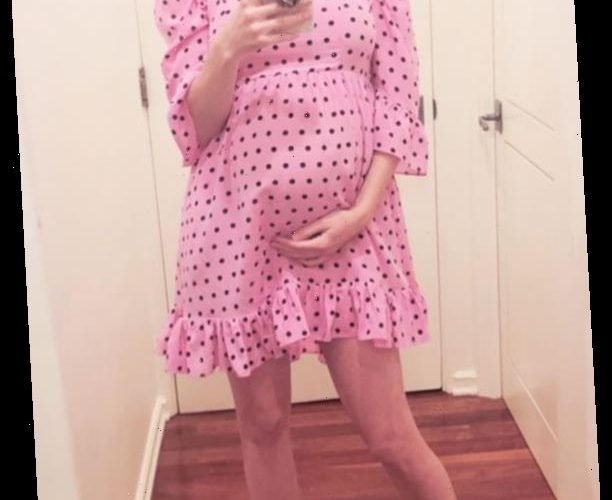 Pregnant Emma Roberts Shows Off Her Growing Bump as She Says 'Baby Doll Dress Has New Meaning'