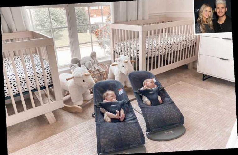 Inside the 'Whimsically Sweet, Dream'-Inspired Nursery for Colton Dixon's Identical Twin Girls