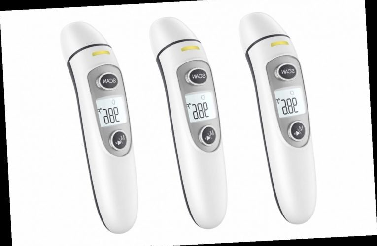 This No-Touch Forehead Thermometer Has 12,000 Five-Star Ratings — and It's 41% Off Right Now
