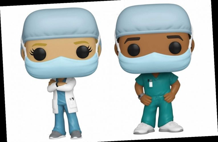 These Funko Pop Figurines Celebrate Nurses and Doctors on the Frontlines of the COVID-19 Pandemic