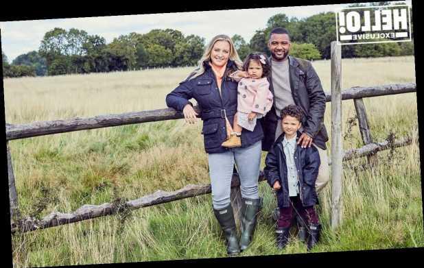 Exclusive: JB Gill and wife Chloe open up about idyllic farm life with son Ace and daughter Chiara