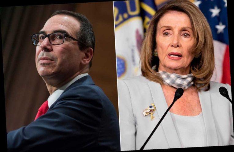 Nancy Pelosi and Steve Mnuchin reach deal to avoid government shutdown