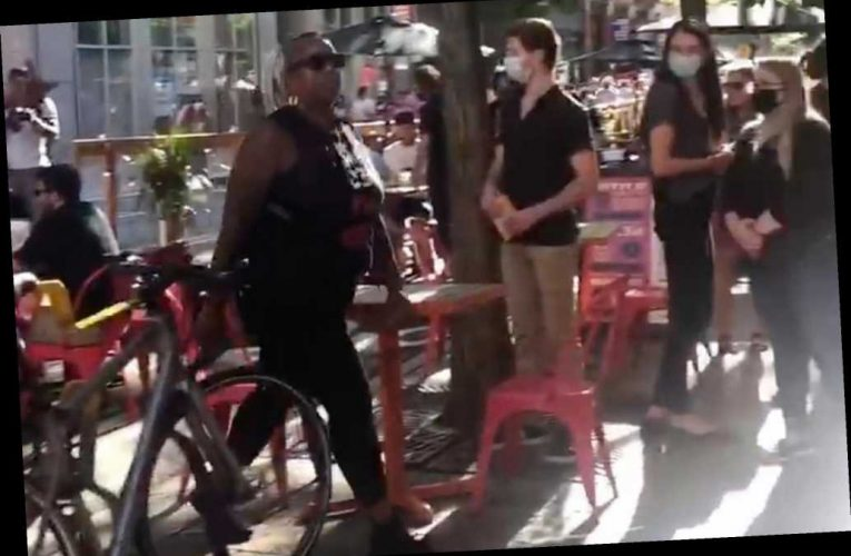 Three BLM protesters charged over harassment of diners in Pittsburgh