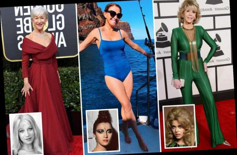 From Helen Mirren to Jane Seymour, the age-defying secrets of the sexiest women over 60