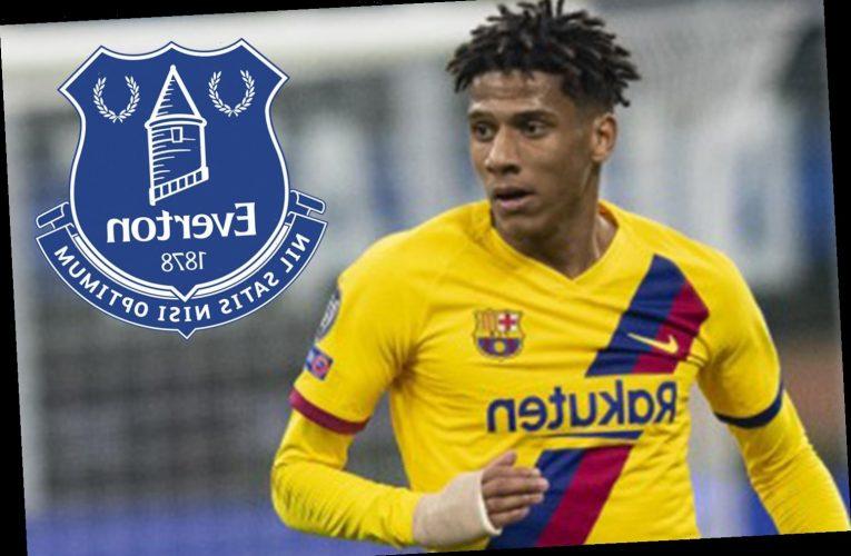 Everton launch transfer bid for Jean-Clair Todibo as Carlo Ancelotti looks to grab Barcelona defender for £13.75m