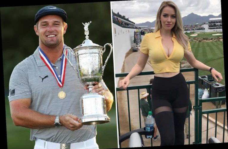 Paige Spiranac congratulates rival Bryson DeChambeau on US Open triumph but admits 'it's fun to give him s*** at times'