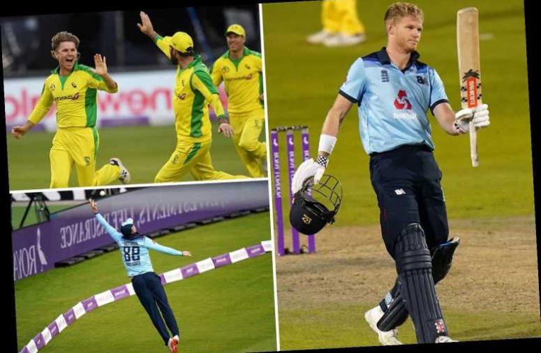 Australia beat England in first ODI despite heroic Sam Billings century