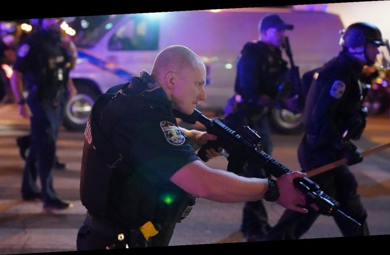 Louisville police officers shot amid Breonna Taylor protests; suspect in custody