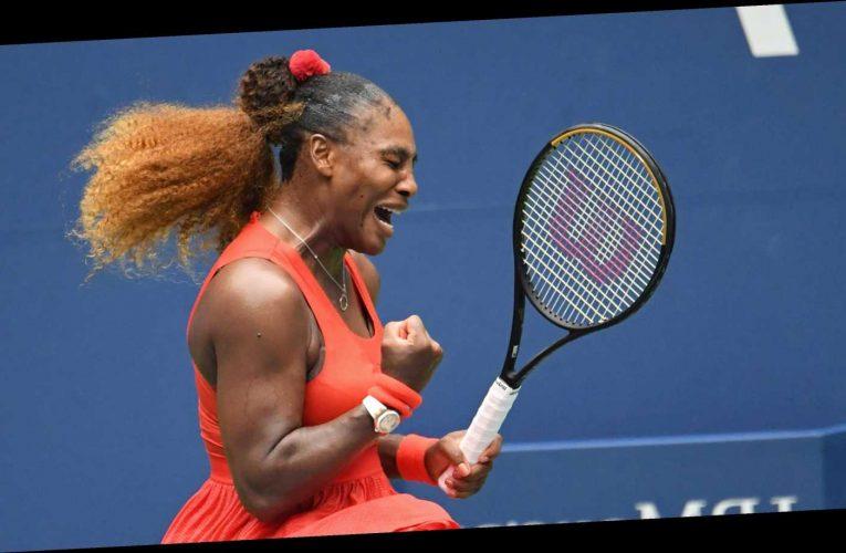 Serena Williams outlasts Tsvetana Pironkova to reach U.S. Open semifinals