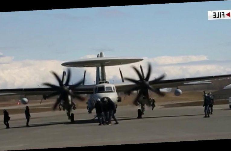Navy surveillance plane crashes in Virginia, crew bails out 'OK'