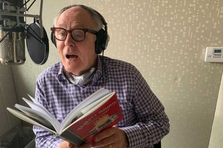 """John Lithgow on his new book, """"Trumpty Dumpty Wanted a Crown"""""""