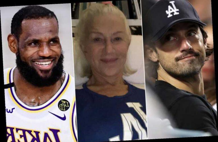 Helen Mirren, LeBron James and more celebrate Dodgers' 2020 World Series win
