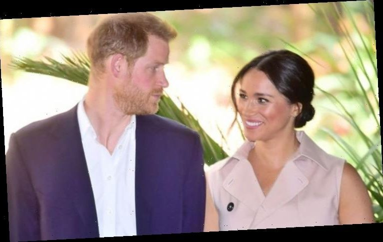 Prince Harry 'steers Meghan Markle' as he 'develops nose for PR' – body language expert