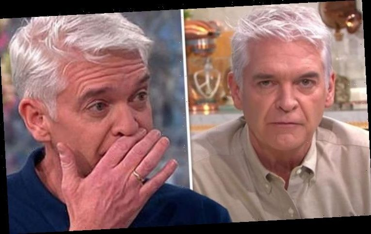 Phillip Schofield breaks down in tears as he speaks on life-changing moment: 'Here we go!'