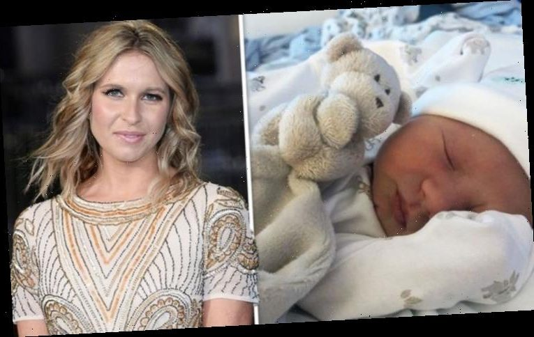 EastEnders' Brooke Kinsella gives birth to daughter three weeks early 'Chaos and magic'