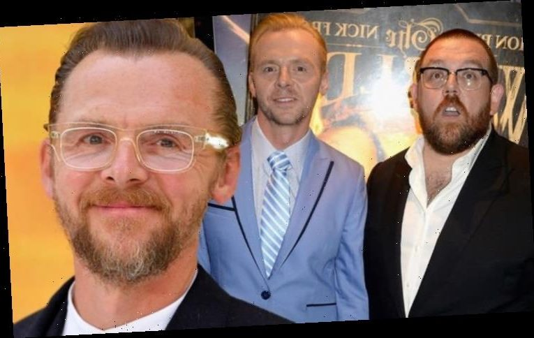 Simon Pegg and Nick Frost's 'fights' revealed: 'Like we were in a relationship'