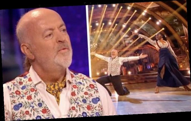 Strictly fans baffled as Bill Bailey and Oti's dance 'invaded' by unusual guest