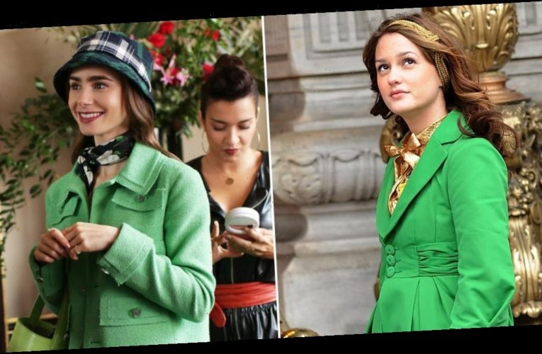 The Outfits on Emily in Paris Look Like They Came Straight From Blair Waldorf's Closet