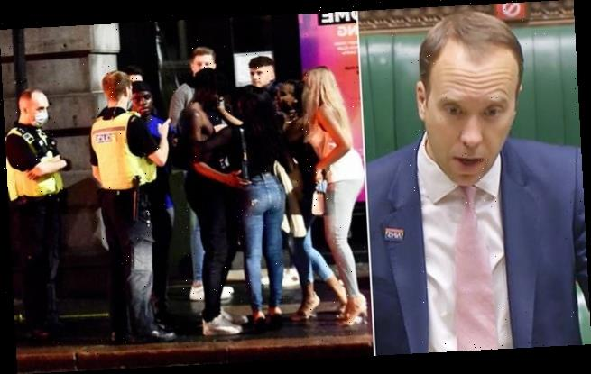 Matt Hancock stands by 10pm pubs curfew despite Tory fury