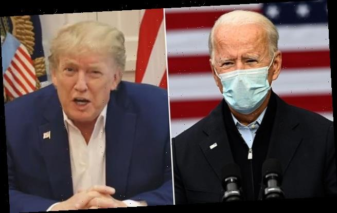 Biden leads Trump by 10 points, new poll shows