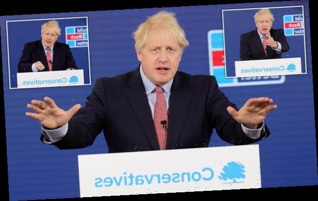 Henry Deedes watches Johnson's speech to Tory party conference