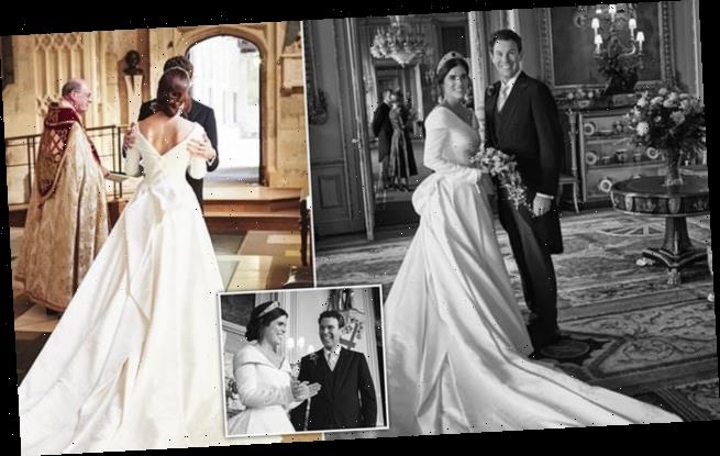 Princess Eugenie shares unseen wedding  with Jack Brookbank