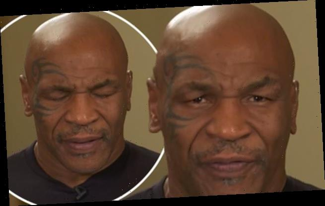Mike Tyson, 54, sparks concern during slurring GMB interview
