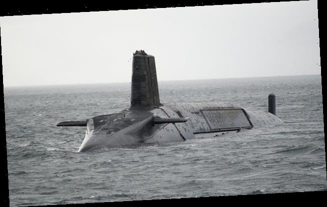 Quarter of crew on nuclear submarine dubbed test positive for Covid
