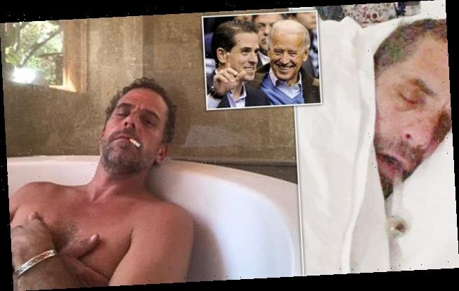 Shocking pictures of Biden's son and damning emails emerge
