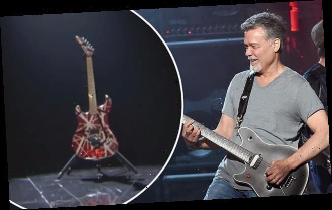 Eddie Van Halen is honoured at the 2020 Billboard Music Awards 2020