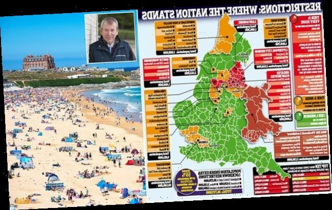 Cornwall tourism bosses tell let owners to refuse northern visitors