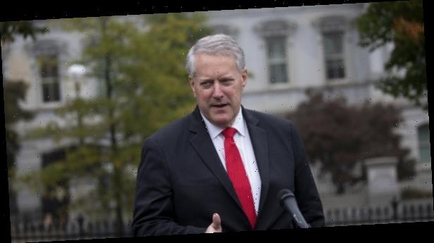 As Trump says news about COVID should be illegal, Meadows says goal is to 'defeat' virus