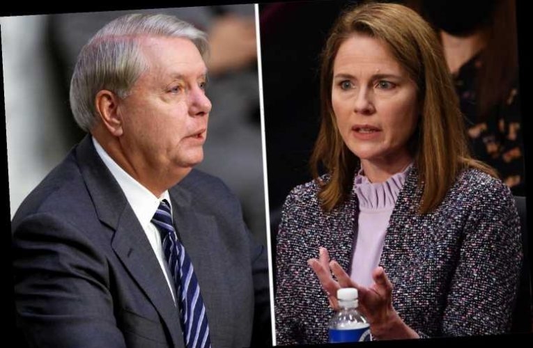 Amy Coney Barrett praised as 'unashamedly pro-life' by Lindsey Graham who referred to 'good old days of segregation'
