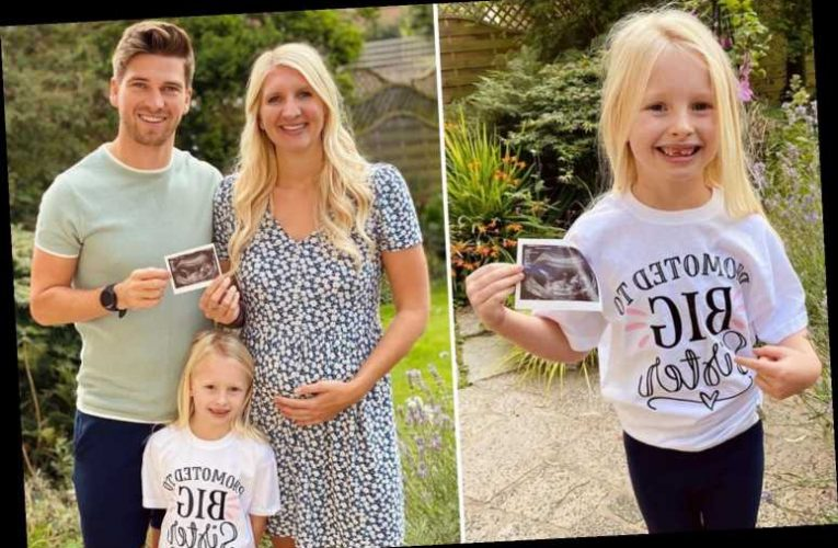 Pregnant Rebecca Adlington and Andrew Parsons reveal they are having a baby boy