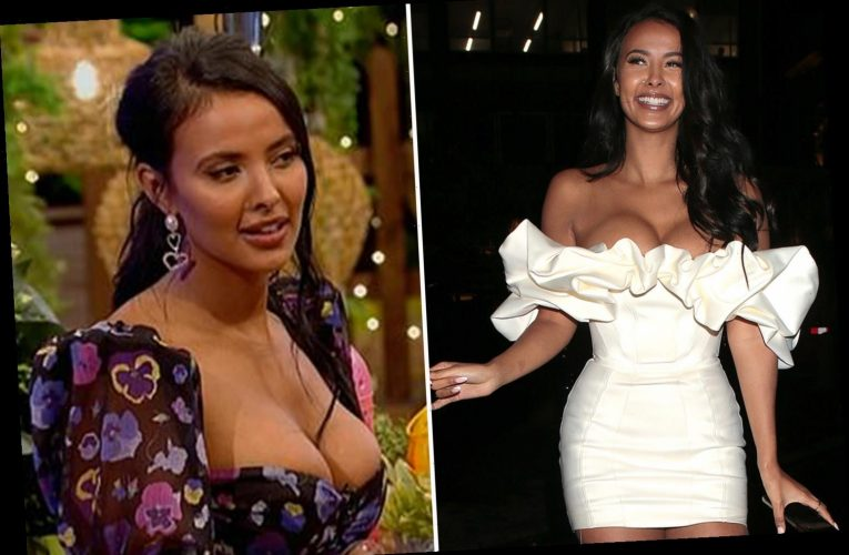 Maya Jama defends wearing low-cut dresses on TV and says she WON'T cover up after 'putting on weight'