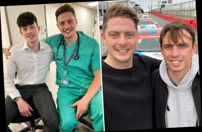Love Island's Dr Alex George thanks rarely seen brother for being 'his rock' after the death of their other sibling