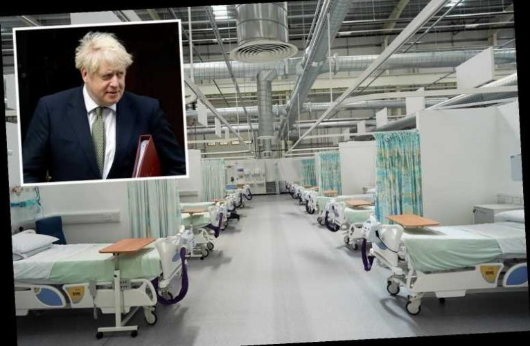 Boris Johnson told every hospital in the England could be FULL by December as expert fears UK is overtaking SAGE project