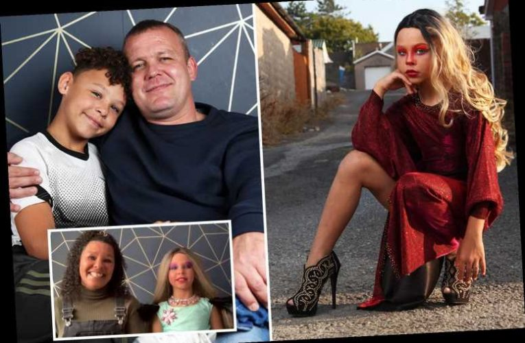 This Morning fans praise Britain's youngest drag queen, 11, after appearance on the show